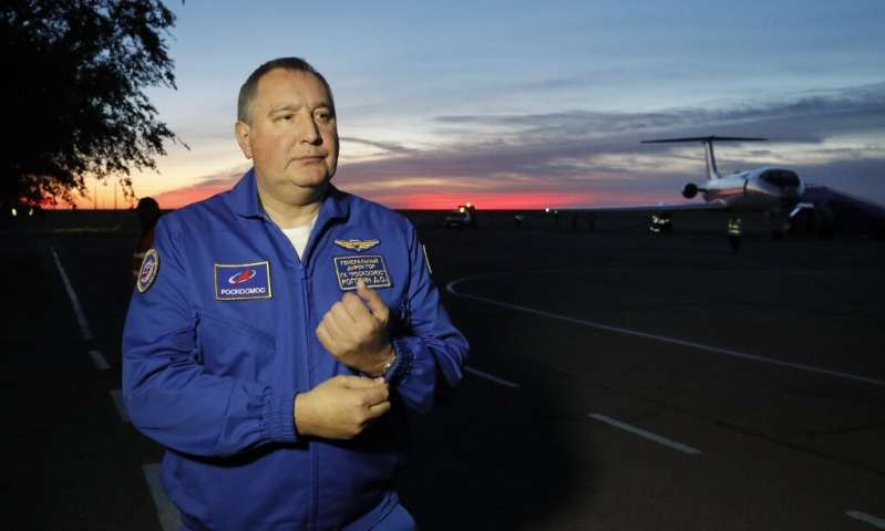 Analysts say Roscosmos chief Dmitry Rogozin, a former deputy prime minister known for his anti-Western statements, is struggling