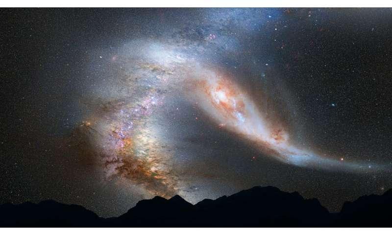 Patlayan bir yıldızın etrafındaki dev bir kalıntının keşfedilen ilk kanıtı…