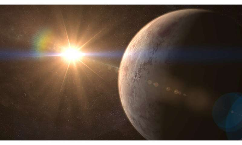 A new, potentially inhabitable super-Earth