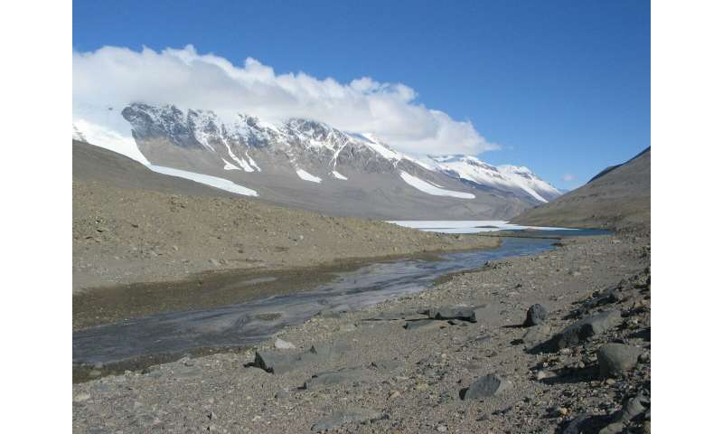 Antarctic meltwater streams shed light on longstanding ...
