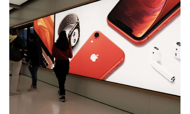 Apple no longer reports unit sales for its iPhones but said third-quarter 2019 revenue from smartphones was lower than in the sa