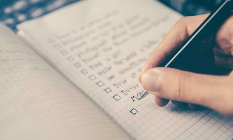 A rational checklist is no match for emotions in matters of the heart