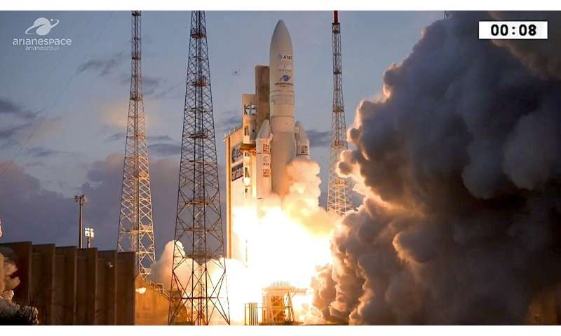 Ariane 5's second launch of 2019