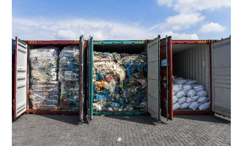 Around 300 million tonnes of plastic are produced every year, with only a small percentage recycled