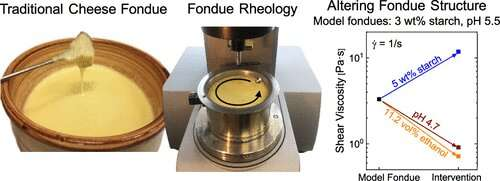 A scientific method for perfect fondue