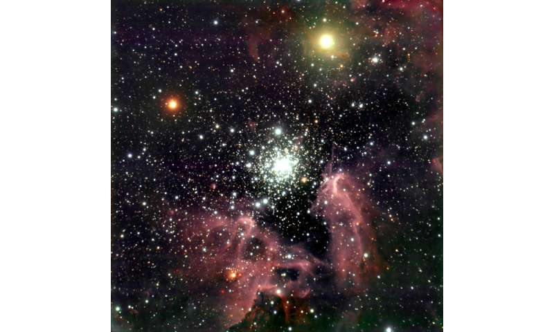As clouds fall apart, a new star is born