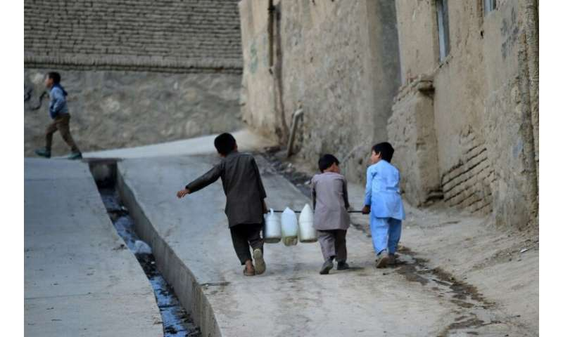 A shortage of rain and snow, a booming population and wasteful consumption have drained the Afghan capital's water basin and spa