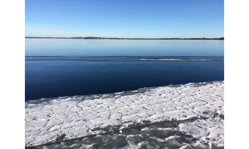 As the climate warms, tens of thousands of lakes may spend winters ice free