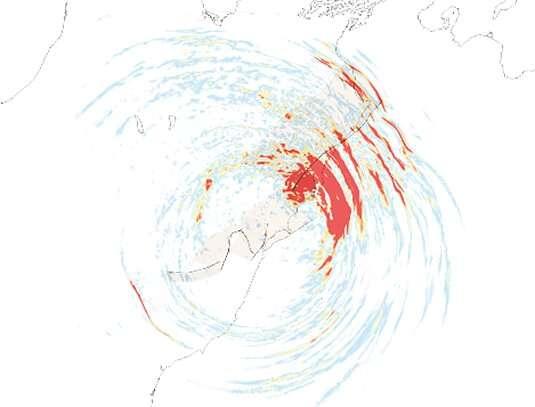 A surprising, cascading earthquake