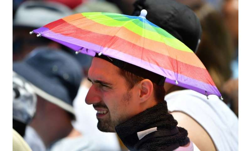 Athletes and spectators at summer sports events in south Australia have been sweltering in the heat
