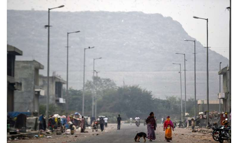 At its current rate of growth, the Ghazipur landfill will be taller than the Taj Mahal, some 73 metres high, in 2020
