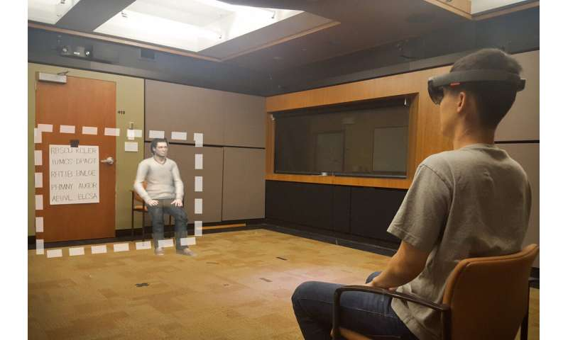 Augmented reality affects people's behavior in the real world