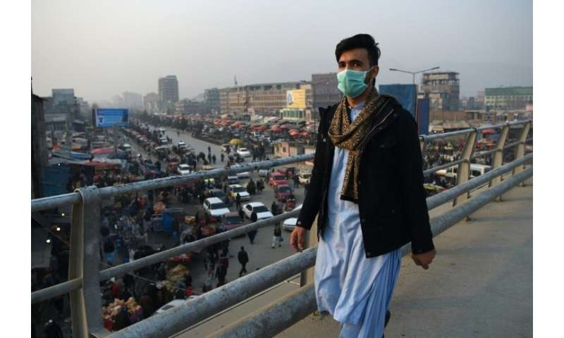 Authorities use media to educate locals on air pollution, but literacy levels are low and the information is unlikely to help ma