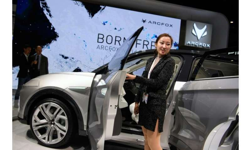 Chinese Carmakers Show Goods In Geneva As Sales Tank At Home
