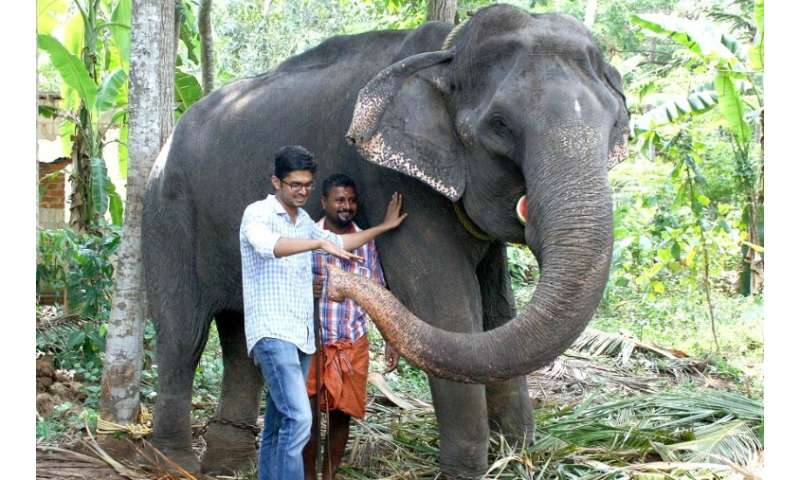 "Awarded the title of ""Gaja Muthassi"" (elephant granny), Dakshayani took part in temple rituals and processions for dec"