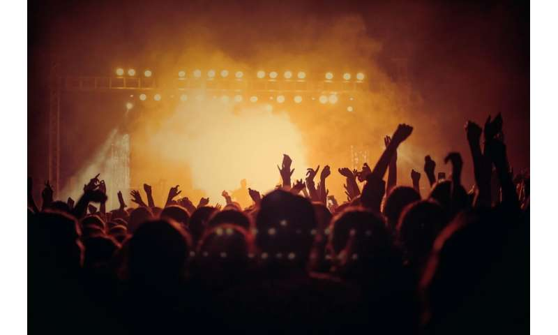 Beyond Queen's stomp-stomp-clap: Concerts and computer science converge in new research