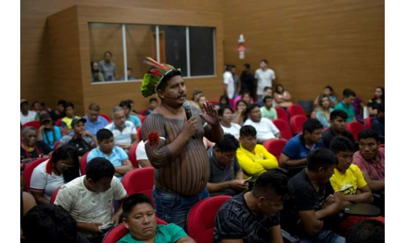 Brazilian indigenous leaders have met with government ministers asking for more security on their lands to stem illegal logging