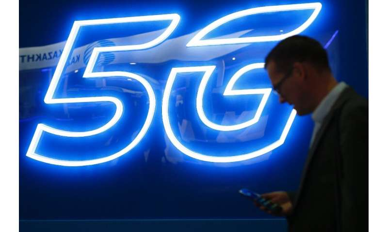 Britain's first 5G phone network went live on Thursday, but customers won't be able to buy a Huawei 5G phone
