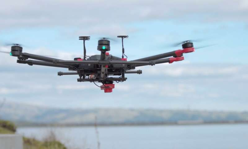 Can a drone reveal the murky secrets of San Francisco Bay?
