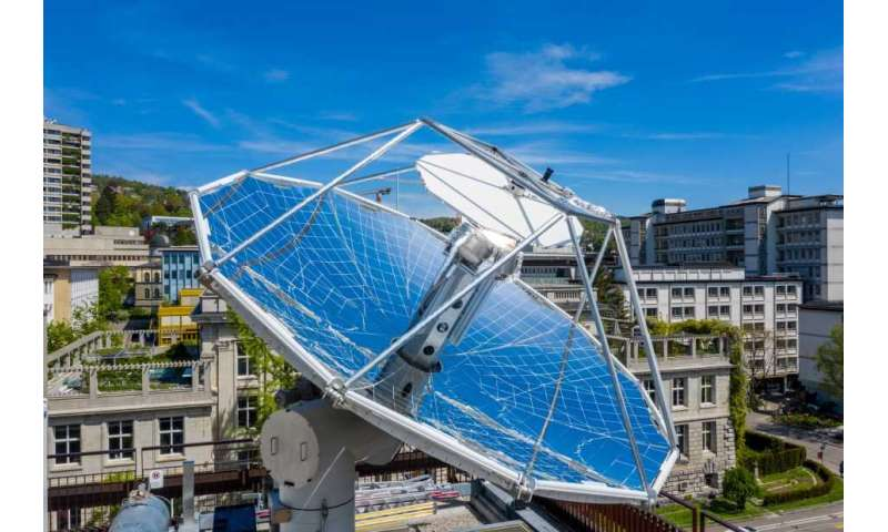 Carbon-neutral fuel made from sunlight and air