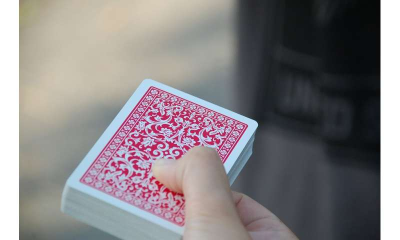Win or lose: Rigged card game sheds light on inequality, fairness