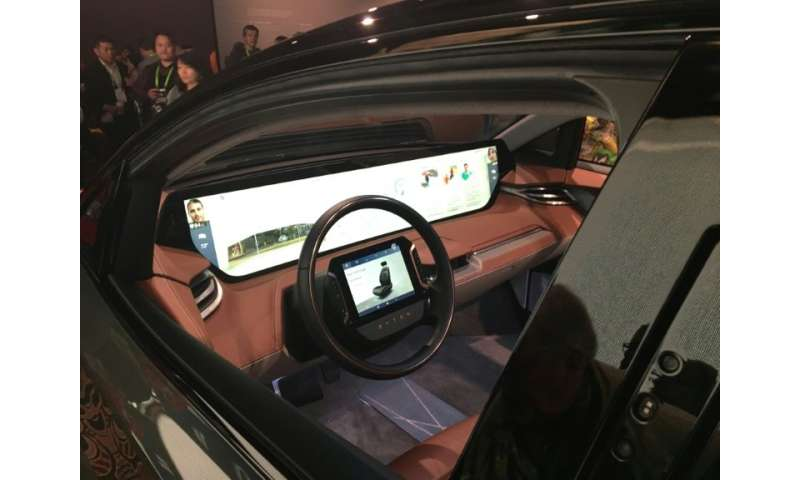 Carmakers are developing cockpits that are aimed at conventional as well as automated driving susch as this from China based aut