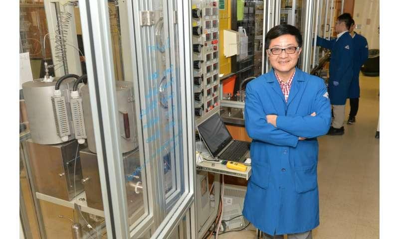 Catalyst eliminates pollutants at low temperatures