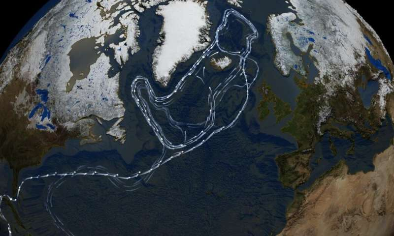 Century-scale deep-water circulation dynamics in the North Atlantic Ocean