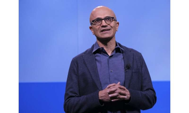 CEO Satya Nadella hasd led Microsoft back to the top ranks of the tech world by focusing on business and cloud computing service