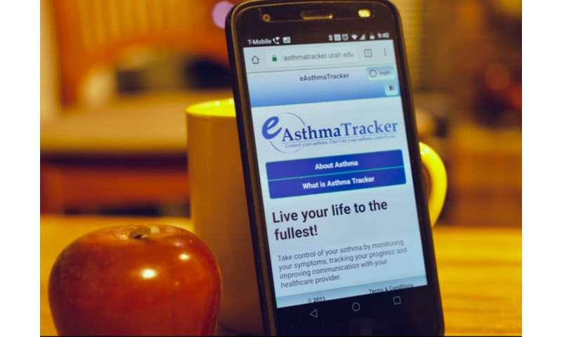New app boosts kids' asthma management