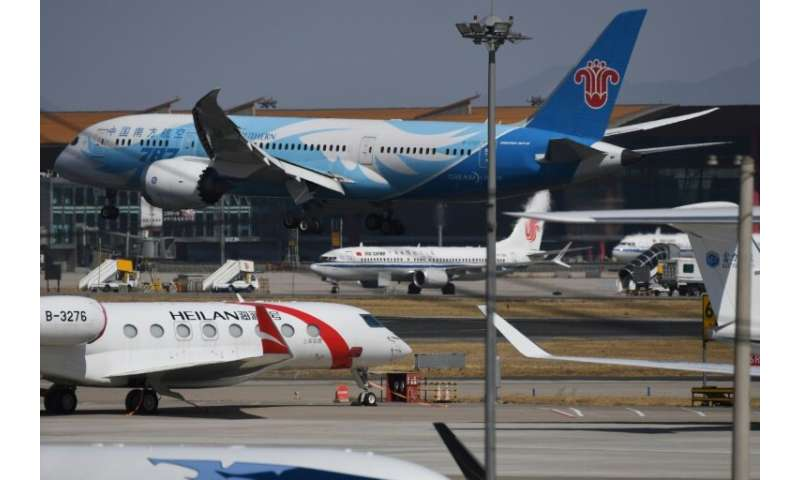 China is the world's fastest growing aviation market