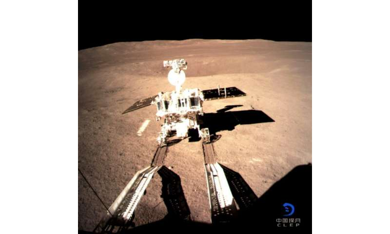 China's Yutu-2 is the first lunar rover to land on the far side of the moon