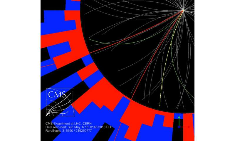 CMS gets first result using largest-ever LHC data sample