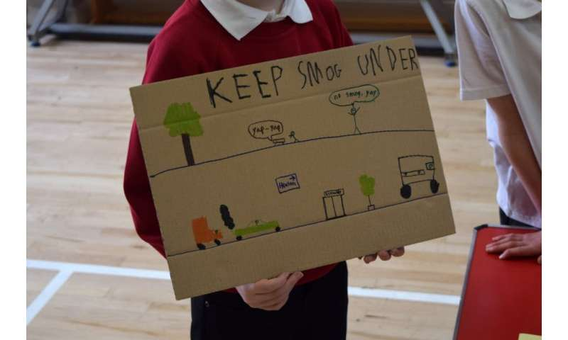 Comment: Schoolchildren helped redesign a city to cut air pollution
