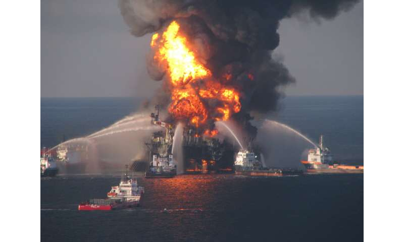 Complex geology contributed to Deepwater Horizon disaster, new study finds