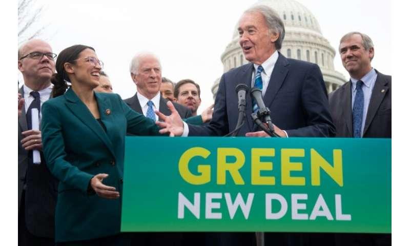 Congressional Democrats including Representative Alexandria Ocasio-Cortez and Senator Ed Markey have introduced a framework to b