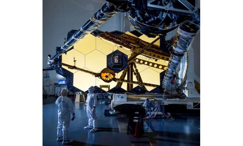 Critical deployment of NASA Webb's secondary mirror a success