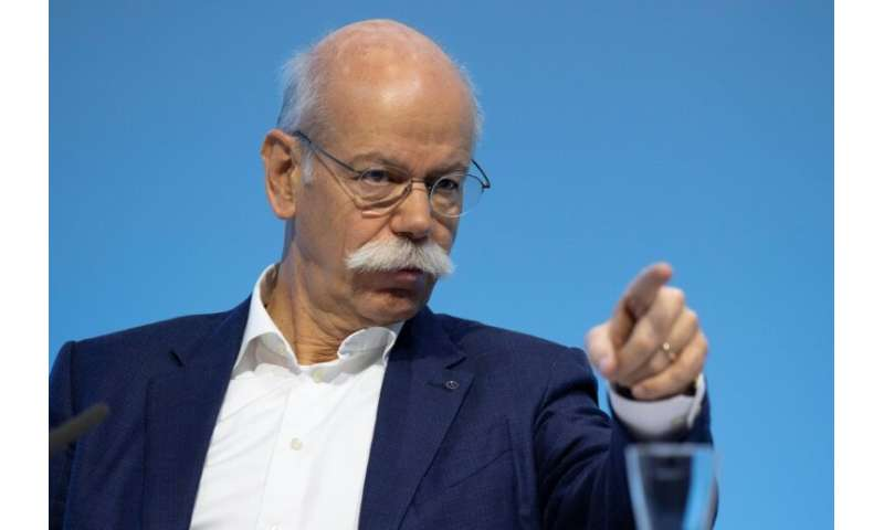 Daimler CEO Dieter Zetsche said 2018 was a difficult year for the Mercedes-Benz maker at a Stuttgart press conference, in one of