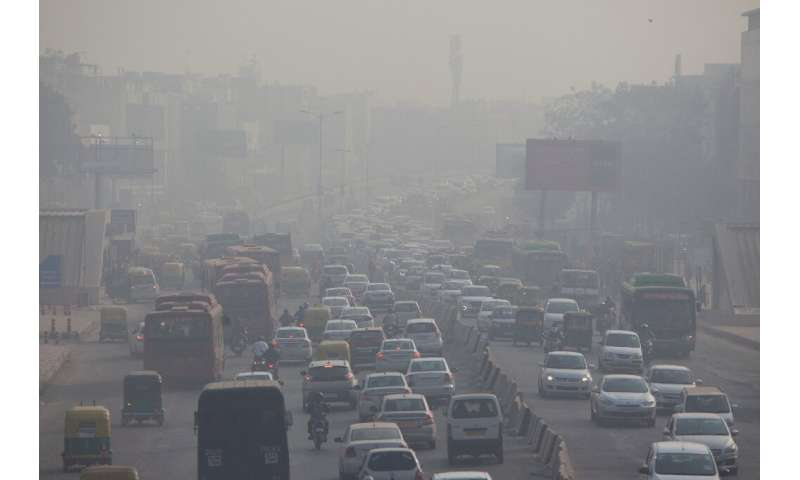 Delhi hit by rare summer air pollution alert