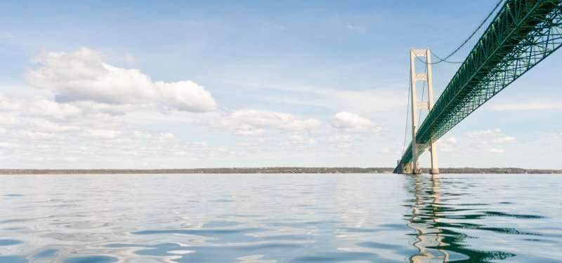 Deploying high-frequency radar in the Straits of Mackinac