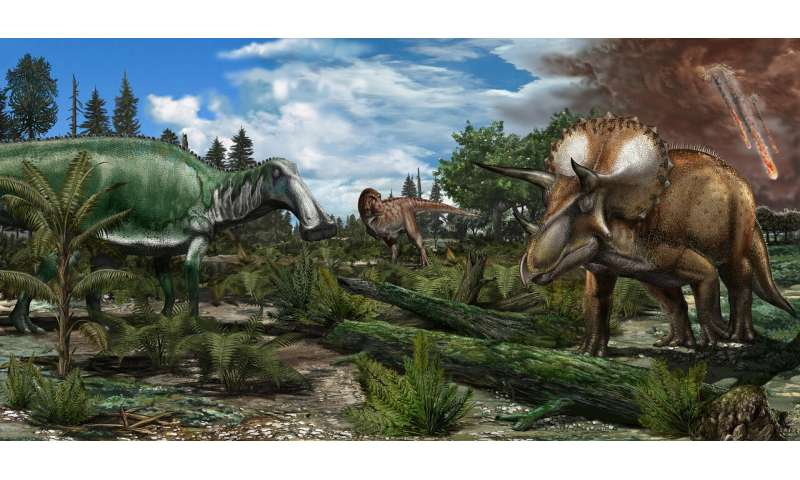 Dinosaurs were thriving before asteroid strike that wiped them out