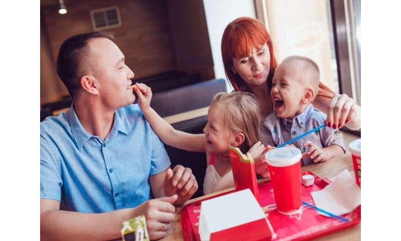 Does your family eat out a lot? watch your blood pressure