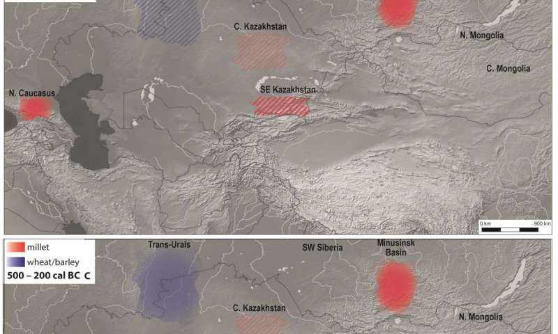 Dramatic change in ancient nomad diets coincides with expansion of networks across Eurasia