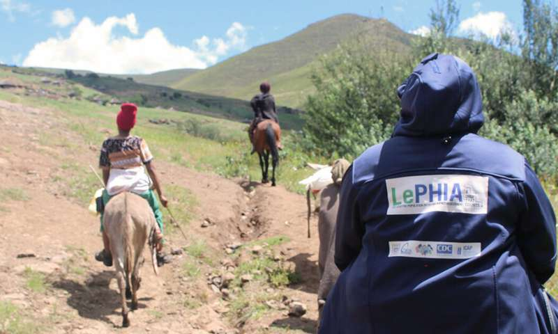 Drought in Lesotho heightened HIV risk in girls