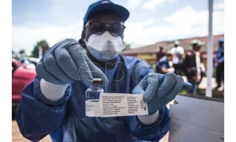 The Ebola vaccine is the key to the ongoing efforts to counter the DRC outbreak