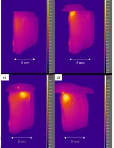 Electrically-heated silicate glass appears to defy Joule's first law