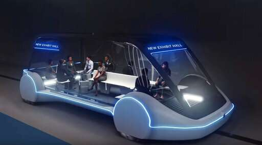 Elon Musk firm pitched to build transit system in Las Vegas