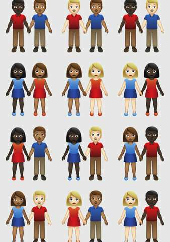 Emoji gods approve skin-tone options for couples of color