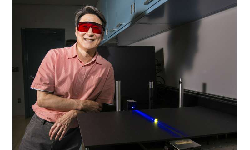 Engineered light could improve health, food, suggests researcher