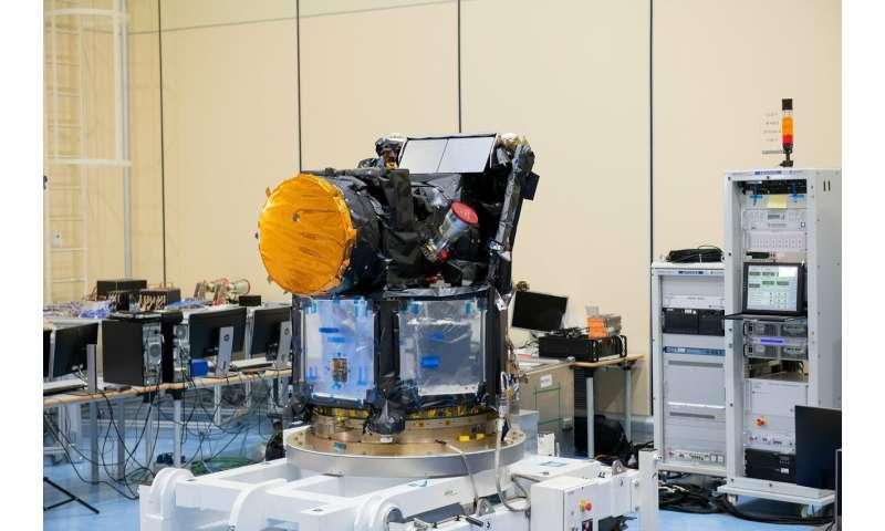 Exoplanet satellite ready